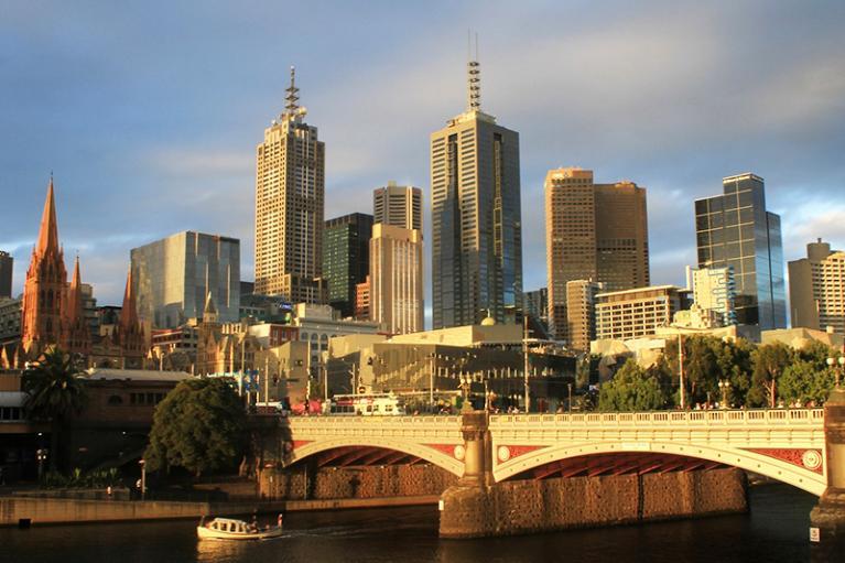 Melbourne pic city