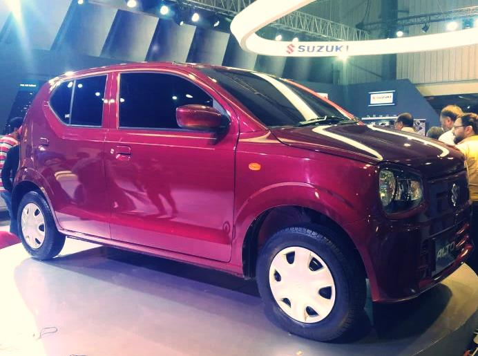 New Suzuki Alto 660cc launched in Pakistan