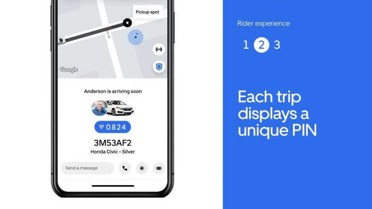 For Safety Uber has Introduced PIN Verification