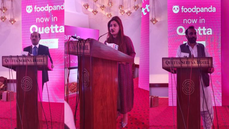 Foodpanda Launched in Quetta